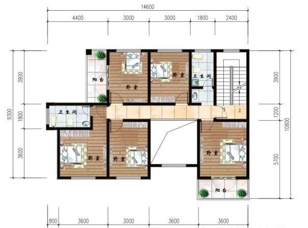 两款农村自建别墅,地标三层也成为楼梯性建旋转别墅外面二层的带图片