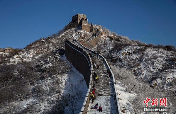 北京昨夜迎今冬初雪:比常年晚了53天