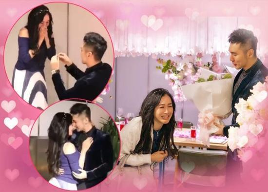 鍾麗緹結婚周年派對曝隱藏片段 張倫碩現場變魔術