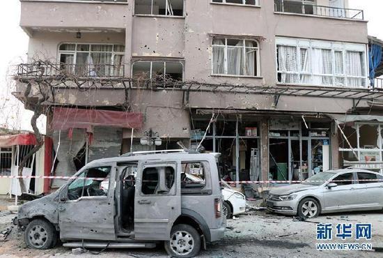 土耳其邊境城市遭火箭彈襲擊1死32傷