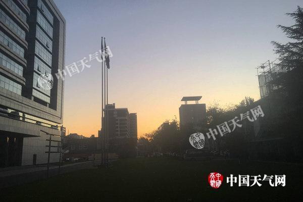北京今天降溫明顯最高13℃ 夜間氣溫或低至0℃