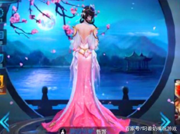 英雄荣耀:4位女王者的背影,大乔神似林志玲,虞性感美女照片露胸而图片