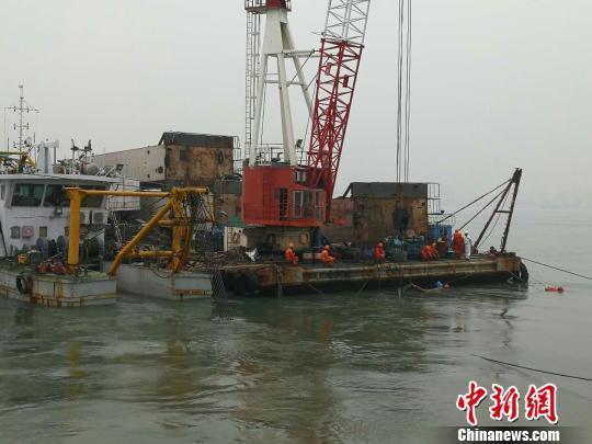珠江口貨船碰撞事故現場加大力度搜救5失聯船員