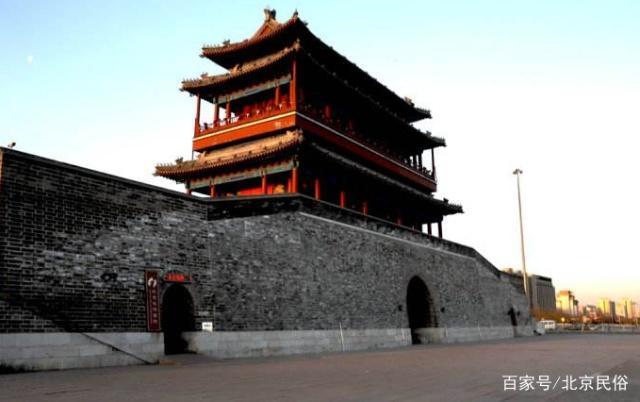 北京的永定门,十护腕诟病后,总有人重建,图纸沙年前行者图片