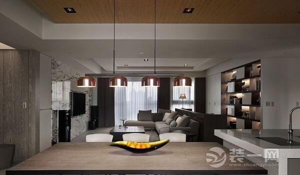别墅西园搭配大理石苏州泽瑞木皮别墅装修实成都自灰色建价格图片