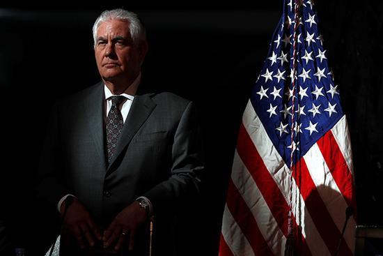 特朗普稱不確定國務卿蒂勒森是否留任:仍待觀察