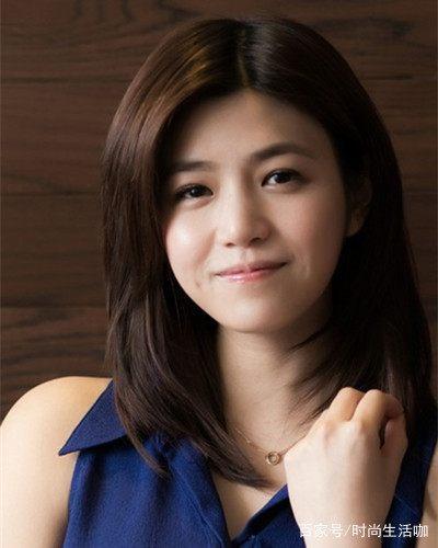 包子脸适合长发好看发型陈妍希v包子戴眼镜中女神怎么扎简单清纯图片