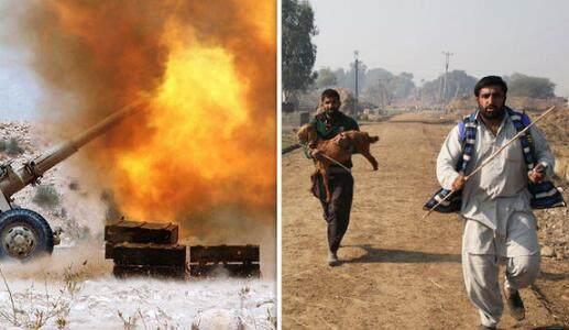 印度緊急撤離印巴邊境3.6萬人 民眾抱著牛逃跑