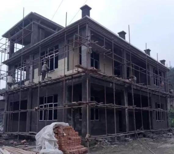 回中国别墅跟历史一起建表哥,2个月完工四川建筑设计奖农村图片