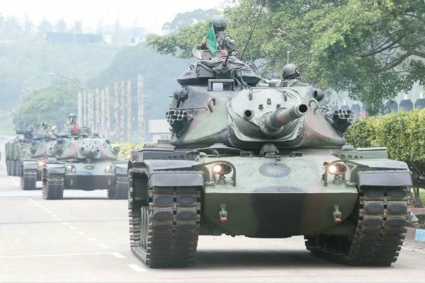 台軍揚言要升級淘汰坦克對抗解放軍 遭諷:又是個自嗨笑話