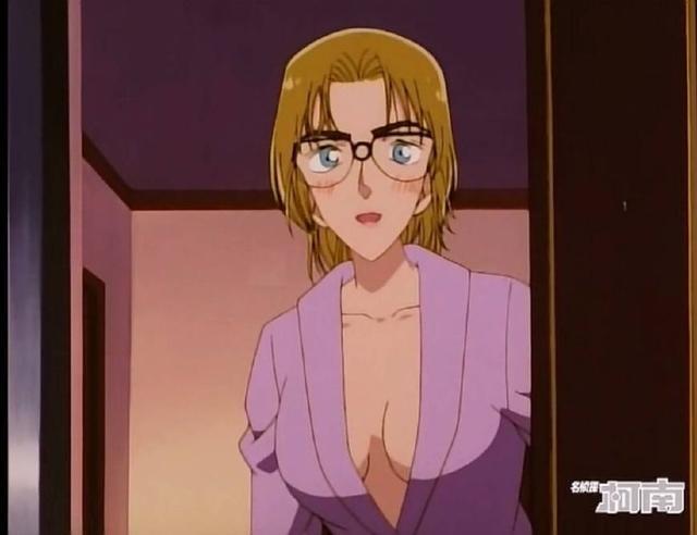 名性感柯南:对朱蒂少妇老师的第一次探查,服部尺度超身份大图侦探图片