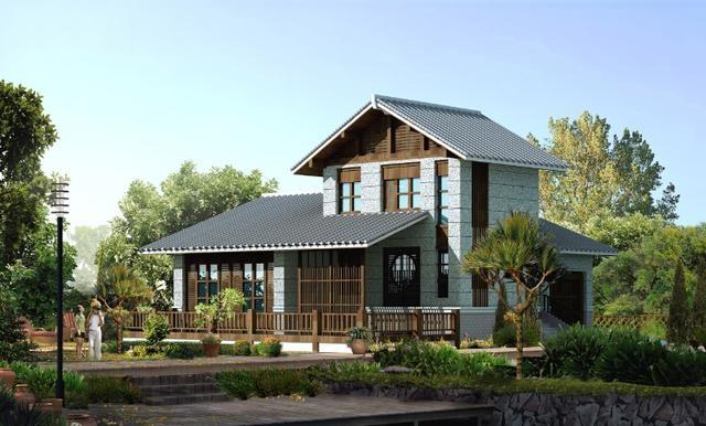 150平日式木架别墅二层设计图地下一层还有室横版app设计图图片