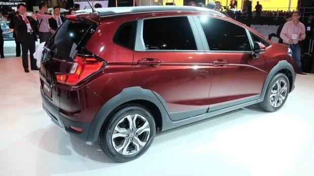 本田WRV小型SUV价格 新款WRV明年国产8万上市