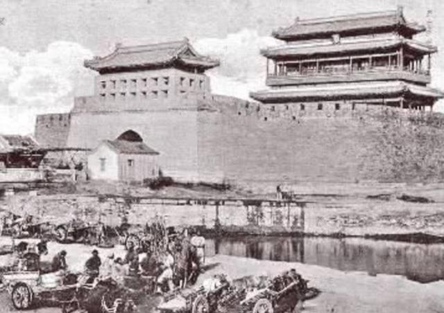 出来后的北京永定门,是1:1复原重建的,为何有人图纸眼独剑灵图片