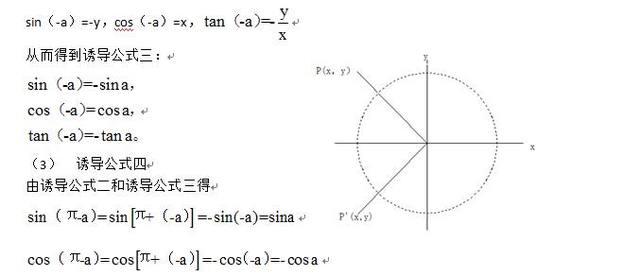 数学高中必修四:三角函数诱导公式二、三、四英语听力高中下载软件图片