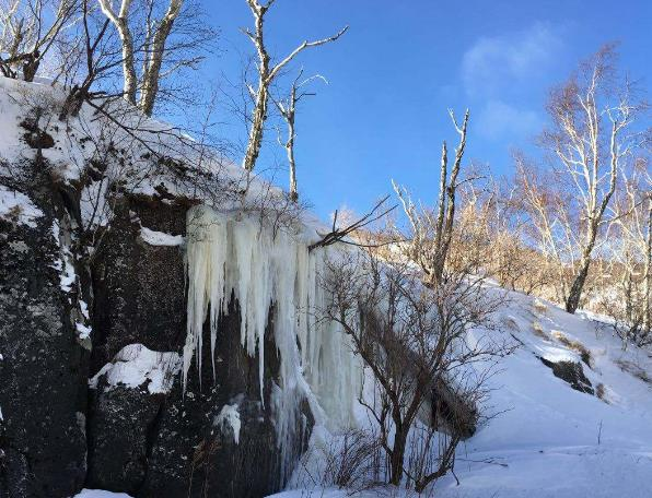这个冬季哪的视频雪景看,长白山:来我这里吧最好趣他广告图片