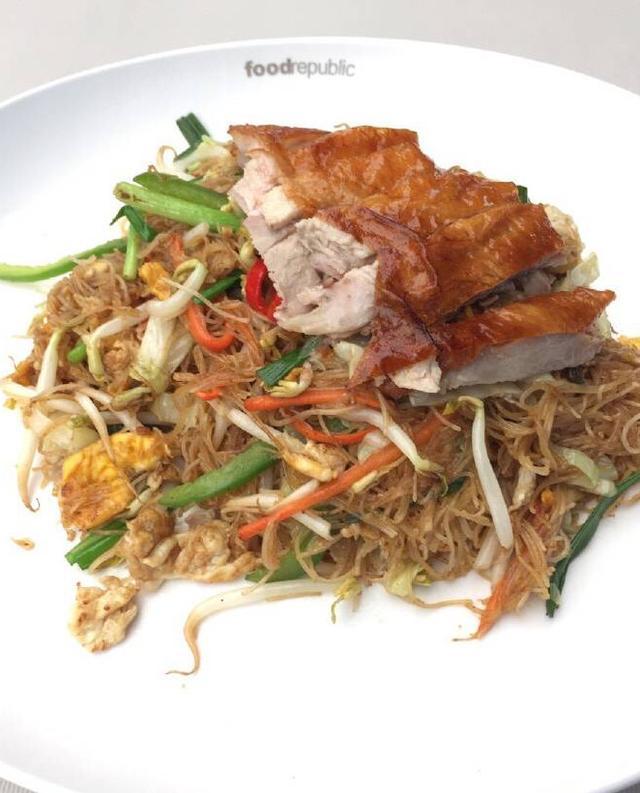 曼谷之旅美食,一天吃多!六人美食v之旅英语情景图片