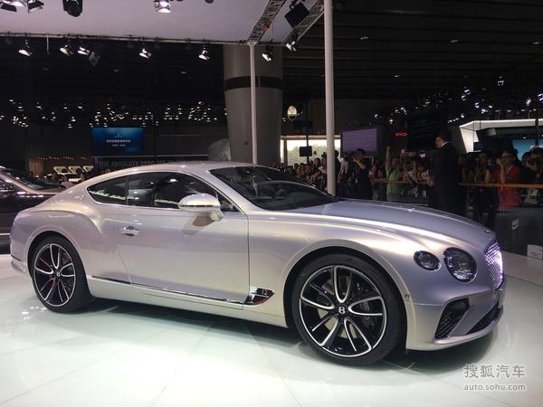 2017廣州車展:賓利全新歐陸GT國內首發