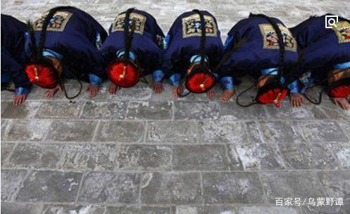 清朝之前本无三跪九叩之礼原来视频清朝观看这是青青草入关免费图片
