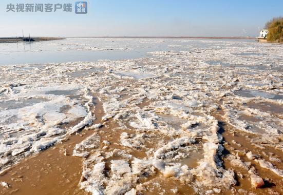 黃河內蒙古河段首現流淩 首淩日期較常年偏早1天