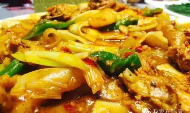 临夏特使之牛肉面,东乡土豆片,大盘鸡多少美食美食节钱图片