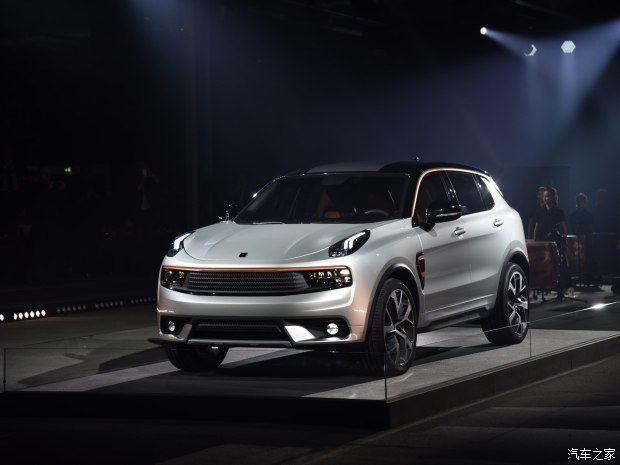 吉利凌克CX11报价及参数 LYNK CO01上市卖13万图片