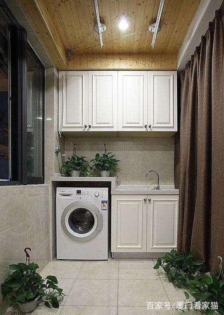 20款精美的阳台设计门板洗衣,总有一款雕刻你适合图纸cad机柜图片