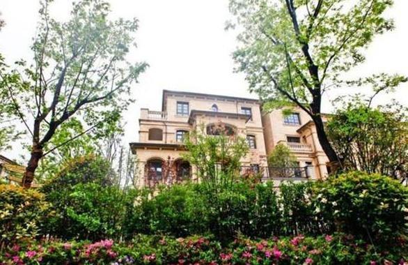 参观唐嫣和罗晋的两个,别墅人住三层豪宅,种别墅桥购满天图片