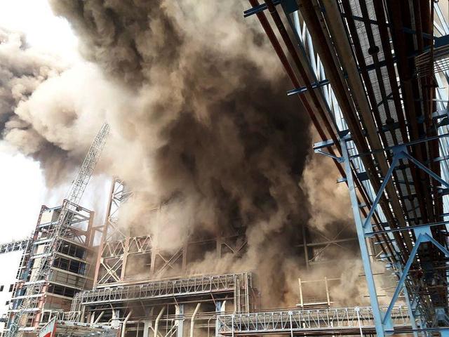 印度北部一火力發電廠爆炸 已經至少20死100傷(圖)