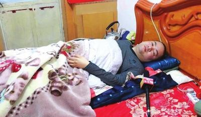 截癱患者想給家鄉捐角膜