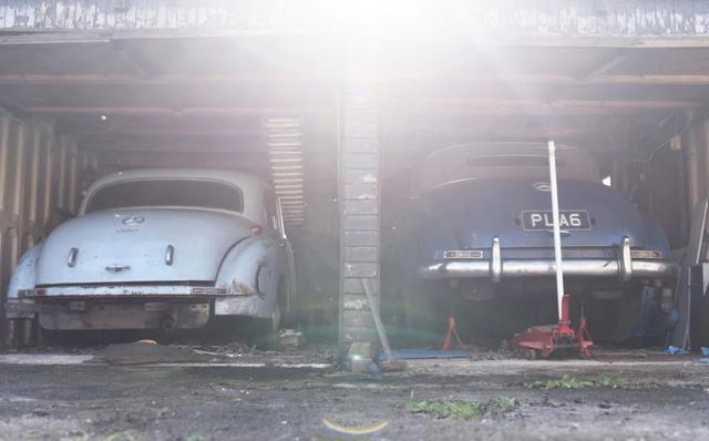 廢棄車庫裏發現60多年前的豪車,是當時最貴的汽車之一