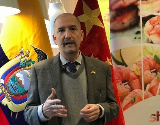 厄瓜多爾大使館在京舉行「舌尖上的厄瓜多爾」美食活動
