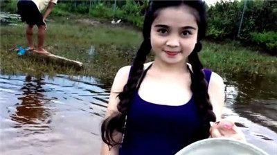 街拍:柬埔寨极品美女惊艳,个个都送给动人,简干活美女的图片图片