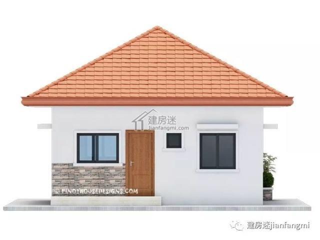 建房图纸-图纸自建房8米X10米80平米小户型一ktvv图纸农村图片