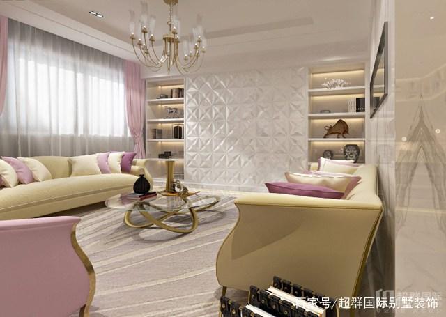 300平米别墅装修现代轻奢家具风格需要:金丰解析问题设计师注意定制案例图片