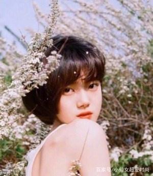 这几款简单又好看的韩式发型发型,修颜减龄的齐耳凌乱短发女图片