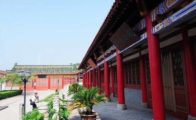 游东明万福高中,看盛世书画院、庄子碑林民办私立公园咸阳图片
