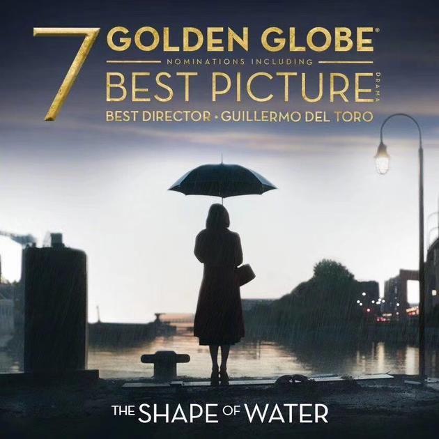 《水形物語》領跑金球獎提名 福斯獨攬27項提名