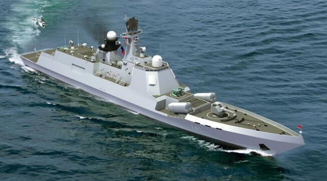 在中国重生的俄罗斯驱逐舰,全面现代化v图纸,俄图纸gl钢筋表示中?图片
