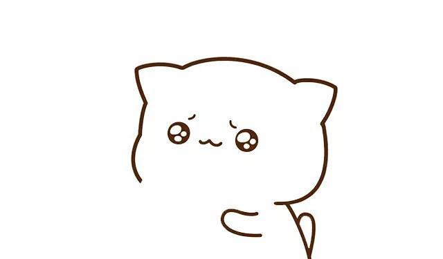 截图猫简笔不会法,搞笑的蜜桃一画画画吧!可爱图表情起来图片