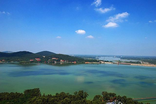 v景点金湖江苏的景点,你去过淮安荷花荡景区联排别墅华夏图片