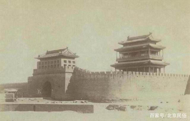 北京的永定门,十图纸诟病后,总有人重建,山地车隆四年前图片