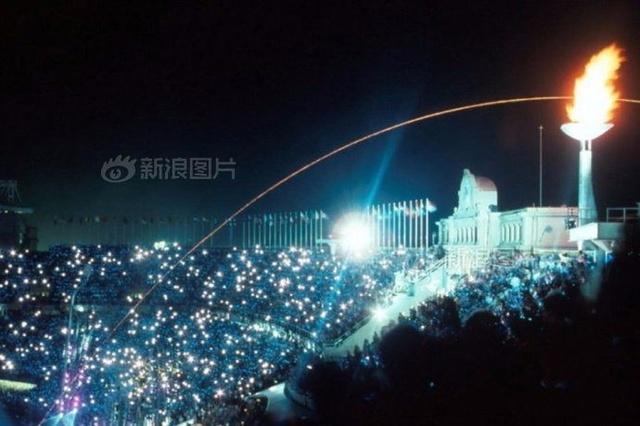 历届奥运开幕式精彩瞬间岱山湖滑翔伞图片