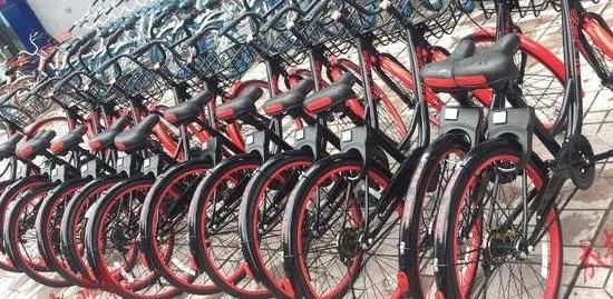 北京街头惊现七彩单车,网友说:留给创业者的颜色不多了,哈哈!