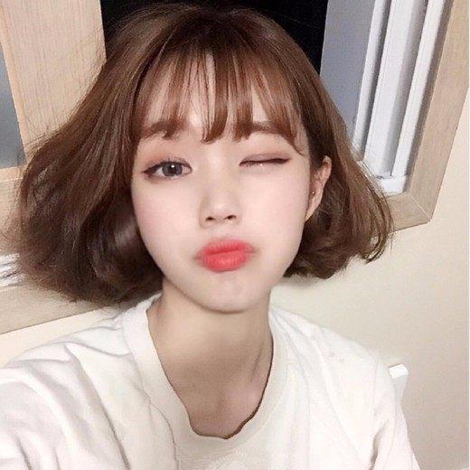 韩国短发适合发型2017清纯无敌的发型!更烫发发型师v短发职业图片
