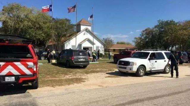 突發!美國得州一教堂發生槍擊案,已致27人死亡