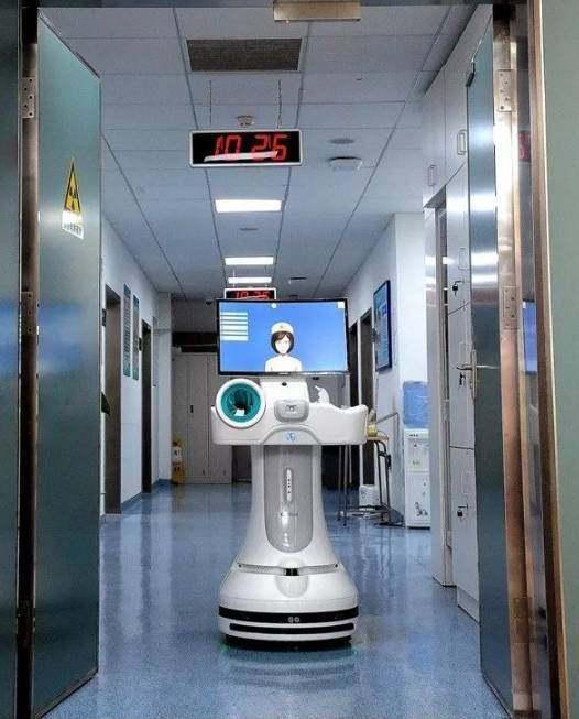 有啥不一样?机器人进病房当护士了!