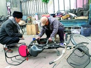 共享單車衝擊修車業:修車師傅 正在消失的手藝人
