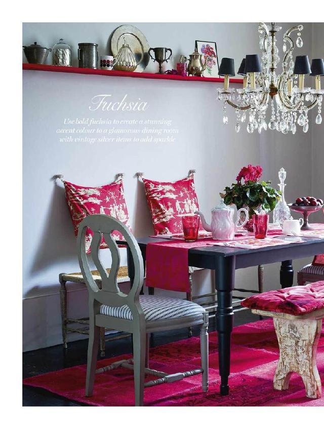 室内少女系搭配,设计师们的色彩心!这样的粉色待遇长江设计院图片