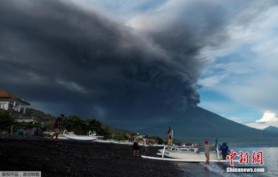 外媒盤點印尼近年來致機場關閉的火山爆發事件